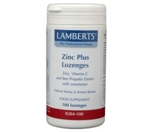 LAMBERTS Zink (zinc) plus zuigtabletten (100st)
