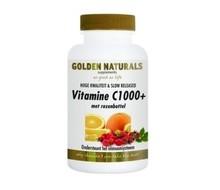 GOLDEN NATURALS Vitamine C1000 & rozenbottel (60tab)
