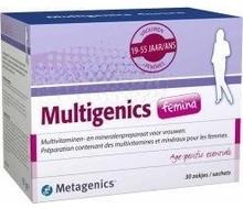 METAGENICS Multigenics femina (30sach)