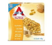 DR ATKINS Day break reep capuccino nut (185g)