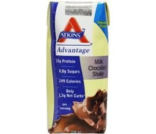 DR ATKINS Advantage drinkklare shake chocolade (330ml)