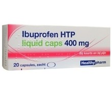 HEALTHYPHARM Ibuprofen 400mg liquid (20cap)
