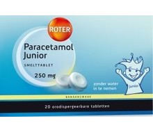 ROTER Paracetamol 250 junior (20tab)