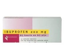 HEALTHYPHARM Ibuprofen 200mg (20tab)