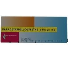 HEALTHYPHARM Paracetamol 500mg coffeine (20tab)