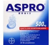 ASPRO Aspro bruis 500mg (20tab)