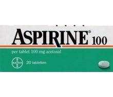 Aspirine 100mg (20tab)