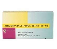 HEALTHYPHARM Paracetamol kind 60mg (10zp)