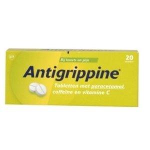 Antigrippine 250mg paracetamol (20tab)