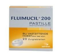 FLUIMUCIL Fluimucil pastilles (20st)