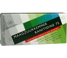 LEIDAPHARM Ranitidine 75mg (12tab)