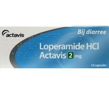 SANIAS Loperamide 2mg HCL (10cap)