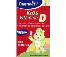 DAGRAVIT Vitamine D tablet kids (200st)