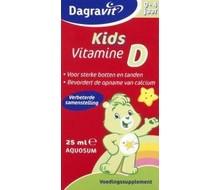 DAGRAVIT Vitamine D druppels aquosum kids (25ml)