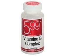 5.99 Vitamine B complex (61tab)