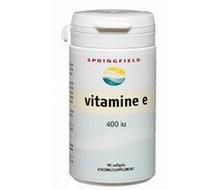 SPRINGFIELD Vitamine E 400IE (90sft)