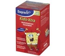 DAGRAVIT Multi kids framboos 6-12 jaar (60kt)
