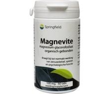 SPRINGFIELD Magnevite magnesium glycerofosfaat 100mg (60tab)