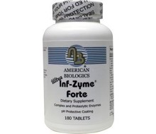 AM BIOLOGICS Infla zyme forte ultra (180tab)