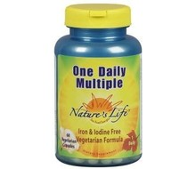 NATURES LIFE Once daily multi (60vcap)