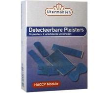 HELTIQ Detecteerbare pleisters blauw (26st)