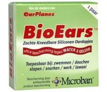 BIO EARS Siliconen oordoppen kneedbaar (1pr)