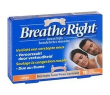 BREATHE RIGHT Neusstrips tanned large (10st)
