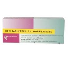 HEALTHYPHARM Chloorhexidine keeltablet (20tab)