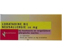 HEALTHYPHARM Loratadine hooikoorts tablet (10tab)