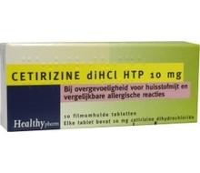 HEALTHYPHARM Cetirizine 10mg (10st)