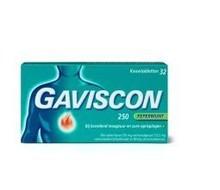 GAVISCON Pepermunt 250 (32tab)