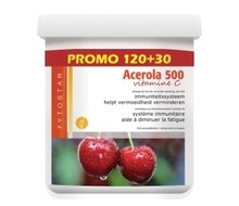 FYTOSTAR Acerola vitamine C 500 kauw (150tab)