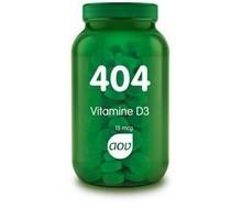 AOV 404 Vitamine D3 15 mcg (60tab)
