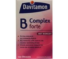 DAVITAMON Vitamine B complex forte (100dr)