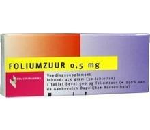 HEALTHYPHARM Foliumzuur 0.5mg (30st)
