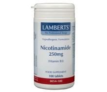 LAMBERTS Nicotinamide 250 mg (100tab)