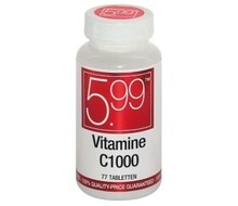 5.99 Vitamine C 1000 mg (77tab)