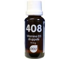 AOV 408 Vitamine D3 druppels 10mcg (25ml)