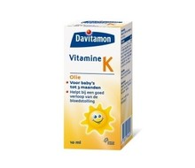 DAVITAMON Vitamine K olie (10ml)