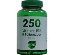 AOV 250 Vitamine B12 & foliumzuur (60cap)