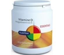 PLANTINA Vitamine D 600IE (420tab)