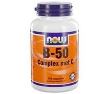 NOW Vitamine B50 with C (100cap)