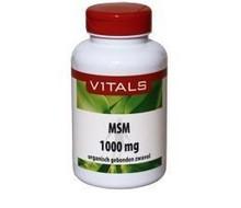 VITALS MSM zwavel 1000mg (120tab)