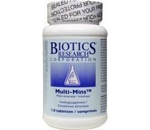 BIOTICS Multi mins (120tab)