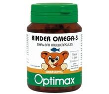 OPTIMAX Kinder omega 3 sinaasappel (50kcap)