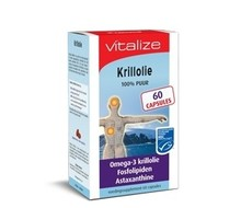 VITALIZE PROD Krillolie (60cap)
