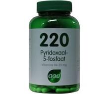AOV 220 Pyridoxaal-5-fosfaat (60cap)