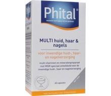 PHITAL Multi huid haar nagels (60cap)