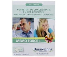 BUURMANNS Memo force + (30st)