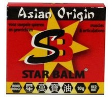 STAR BALM Rood (10g)